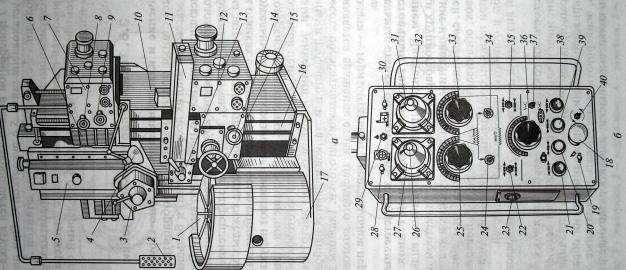 Одностоечный токарно-карусельный станок с ручным управлением